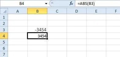 ABS Excel