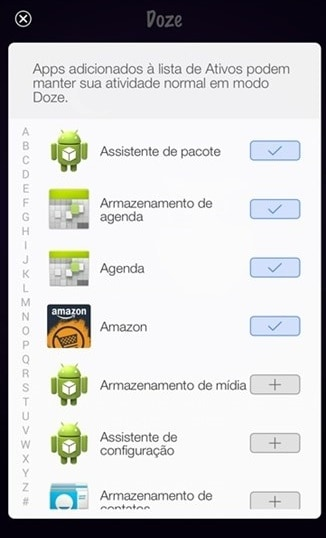 Doce en Android Marshmallow