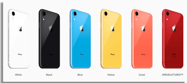 iphone xr vs galaxy s9 colores